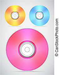 Compact disc vector collection