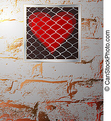 heart behind bars