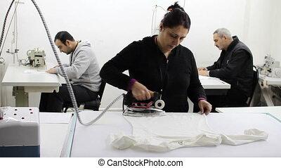 textile factory  - textile factory