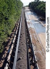 Conveyor Belt - Opencast Mining