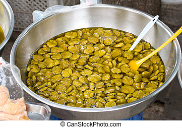pickled olives with spices