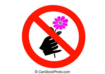 no picking flowers stock photo images 90 no picking