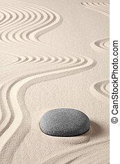 balance, armonía, zen, meditación, balneario