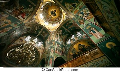 Church Inside - grecian church inside