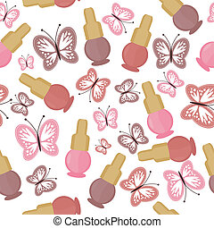 background with nail polish - seamless background with nail...
