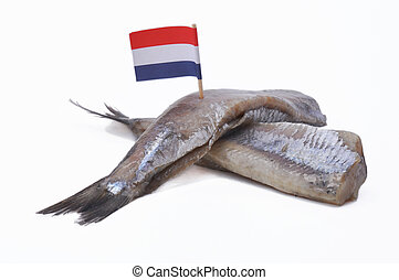 Dutch salted herring - Typical Dutch snack, called: salted...