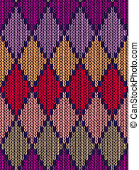 Style Seamless Color Pattern