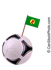 Soccerball or football in Zaire - Soccerball or football...