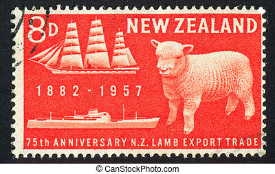 Lamb and Refrigeration Ship