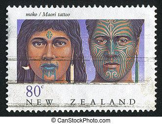 tatuaje,  maorí