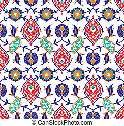 Floral Islamic pattern - Vector of Floral Islamic pattern