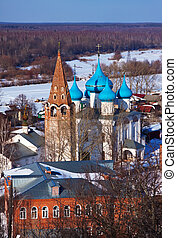View of Gorokhovets in winter. Russia - View of Gorokhovets...