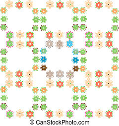 flower decoratively romantically abstract vector