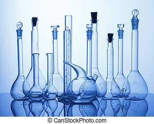 Lab assorted glassware equipment - Research Lab assorted...