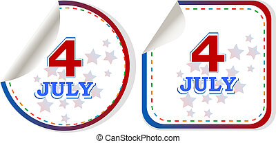 happy 4th of july. usa independence day