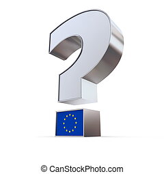 Question Mark - European Union