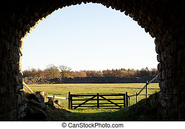 Ancient portal