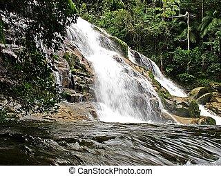 cachoeira - no coraao da serra
