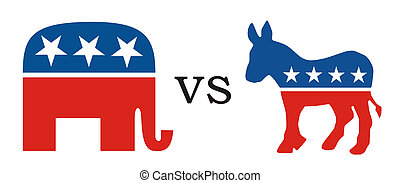 republican vs democratic - republican party versus...
