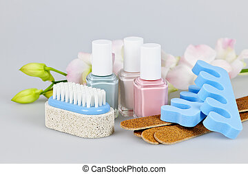 Pedicure accessories and tools