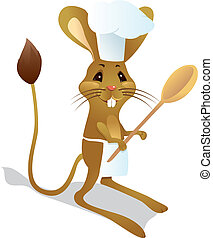Jerboa, Chef, Cuchara
