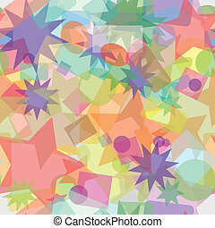 Abstract multicolored seamless vector texture
