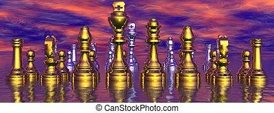 checkmate and sky pink