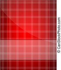 Red Christmas abstract background - Vector illustration for...
