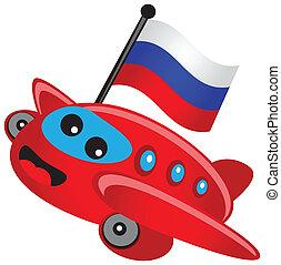 traveling flag