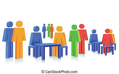 discussion round