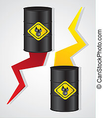 gallons of oil