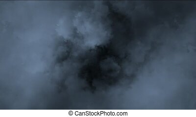 dark clouds and smoke slowly flying - dark clouds smoke...