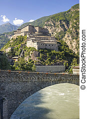 Fortress of Bard - Bard Aosta, Italy - The ancient fortress...