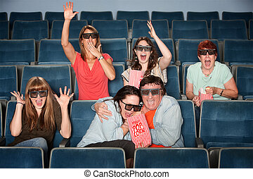 Emotional Theater Audience