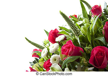 Lovely bouquet - Bouquet with different kind of flowers for...