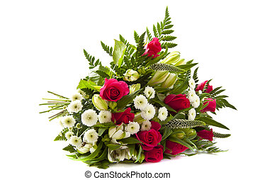 Luxury bouquet - Beautiful bouquet with different kind of...
