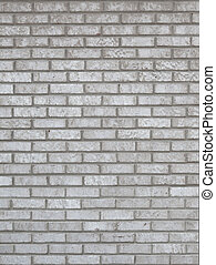 Gray Brick Wall Background - Photo of a gray brick wall...