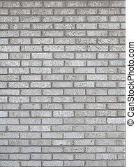 灰色, 磚, 牆, 背景