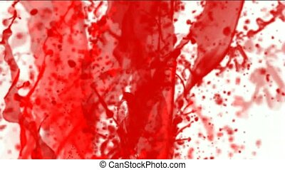 splash red paint fluid,liquid and ink - splash red paint...