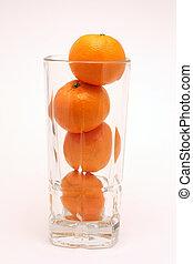 Tall Glass of Orange Juice