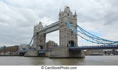 Tower Bridge. London, UK.