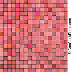 abstract 3d gradient backdrop cubes in muliple red