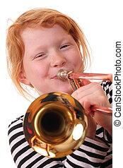 trombón, jugador