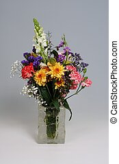 Bouquet of flowers. - Flowers in a glass vase, Costa del...