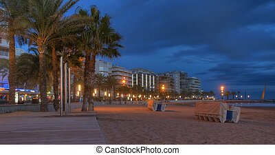 Salou at Dusk