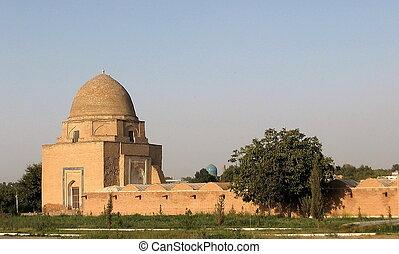 Samarkand Rukhobod Mausoleum - Rukhobod Mausoleum,...