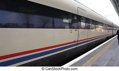high speed trains - Konya, March 29, 2012, noon time: 18:30...