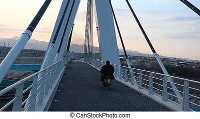 overpass - pedestrian overpass
