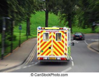 緊急事態, 救急車