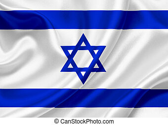 Israel waving flag